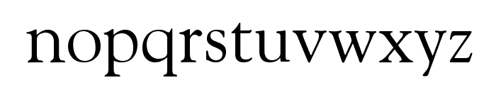 Cordial Font LOWERCASE