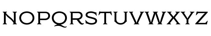 Cottonhouse Medium Font UPPERCASE