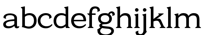 Cottonhouse Medium Font LOWERCASE