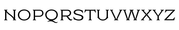 Cottonhouse Regular Font UPPERCASE