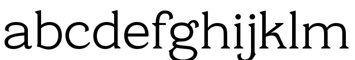 Cottonhouse Regular Font LOWERCASE
