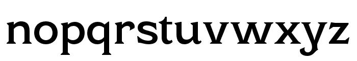 Cottonhouse SemiBold Font LOWERCASE