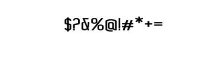 Concepts Sans Serif.ttf Font OTHER CHARS