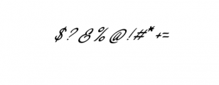 Concepts Script.ttf Font OTHER CHARS