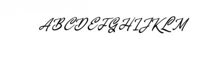 Concepts Script.ttf Font UPPERCASE