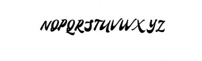 Confinental.ttf Font UPPERCASE