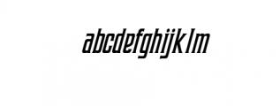 Coprost Italic.otf Font LOWERCASE