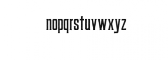 Coprost Rough.otf Font LOWERCASE