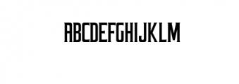Coprost.otf Font UPPERCASE