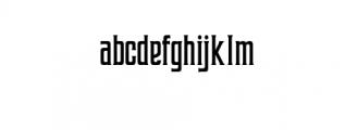 Coprost.otf Font LOWERCASE