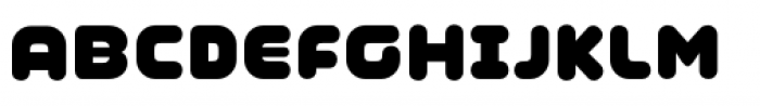 Coconut Font UPPERCASE