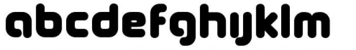 Coconut Font LOWERCASE