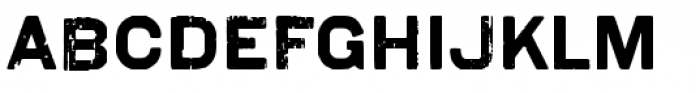 Coldharbour Gothic Pro Font UPPERCASE