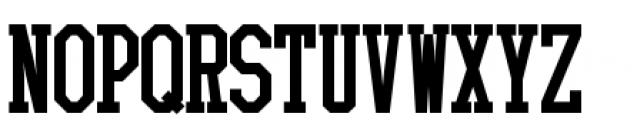 Collegiate 3 Solid Font UPPERCASE