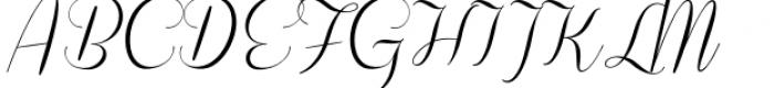Coneria Script Light Font UPPERCASE