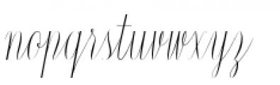 Constancia Script Regular Font LOWERCASE