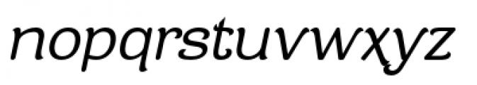 Contra Flare Book Italic Font LOWERCASE