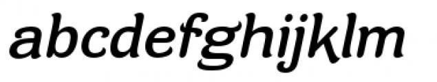 Contra Flare Italic Font LOWERCASE