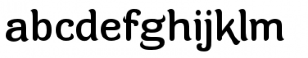 Contra Flare Regular Font LOWERCASE