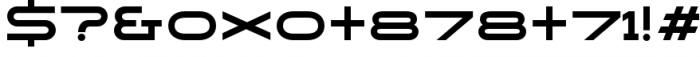 Copperplate Alt Medium Font OTHER CHARS