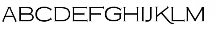 Copperplate Class Light Regular Font UPPERCASE