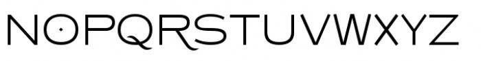Copperplate Class Light Sans Font UPPERCASE