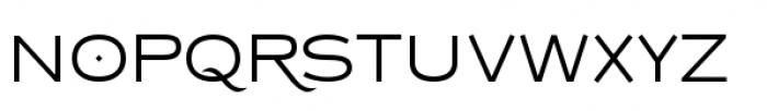 Copperplate Class Light Sans Font LOWERCASE