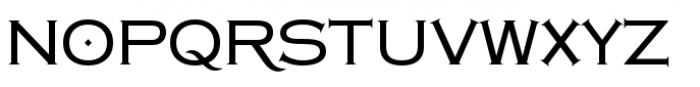 Copperplate Class Medium Regular Font UPPERCASE