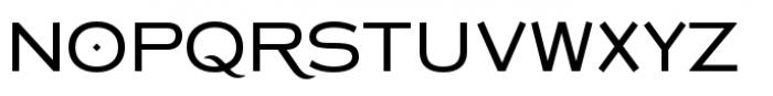 Copperplate Class Medium Sans Font UPPERCASE