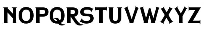 Copperplate Classic Plain Plus Font LOWERCASE