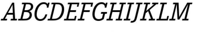 Corporate E Italic Font UPPERCASE