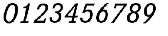 Corporate E Medium Italic Font OTHER CHARS