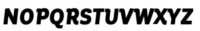 Corporative Condensed Black Italic Font UPPERCASE