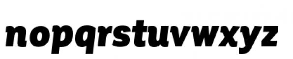 Corporative Condensed Black Italic Font LOWERCASE
