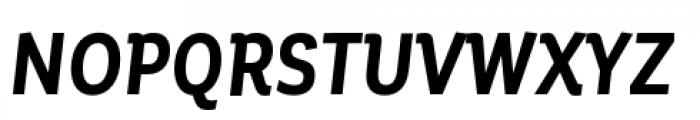 Corporative Condensed Bold Italic Font UPPERCASE