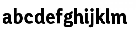 Corporative Condensed Bold Font LOWERCASE