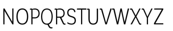Corporative Condensed Book Font UPPERCASE