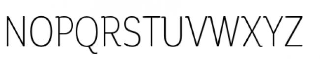 Corporative Condensed Light Font UPPERCASE