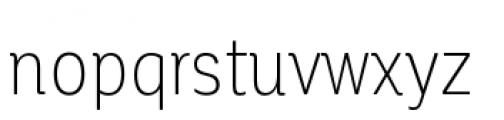 Corporative Condensed Light Font LOWERCASE