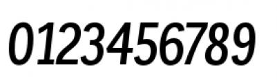 Corporative Condensed Medium Italic Font OTHER CHARS