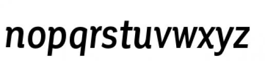 Corporative Condensed Medium Italic Font LOWERCASE
