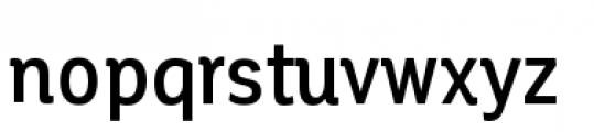 Corporative Condensed Medium Font LOWERCASE