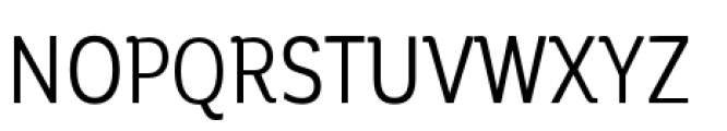 Corporative Condensed Regular Font UPPERCASE