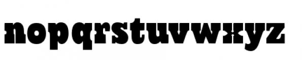 Cowboyslang Regular Font LOWERCASE