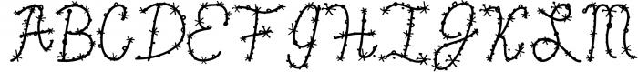 Confetti Font Font UPPERCASE