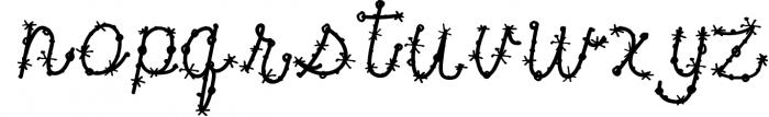 Confetti Font Font LOWERCASE