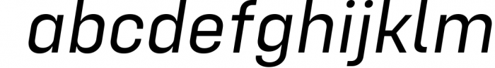 Config Complete Font Family 9 Font LOWERCASE