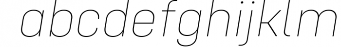 Config Complete Font Family Font LOWERCASE