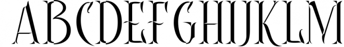Controwell Victorian Typeface 2 Font UPPERCASE