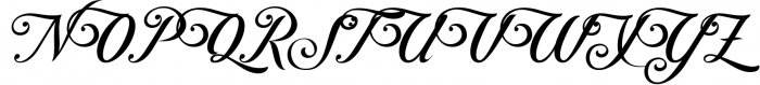 Controwell Victorian Typeface 3 Font UPPERCASE
